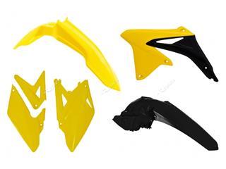 Kit plastique RACETECH couleur origine jaune/noir Suzuki RMX450Z - 7804803