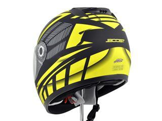 Casque Boost B530 Ultra mat noir/jaune taille L - 532fbc40-589c-4c73-a54d-14ab0fc45690