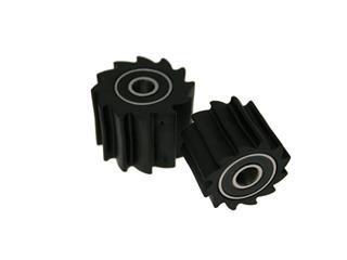 Roulette de chaîne BIHR Blade noir type KX  - 780531