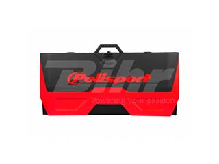 Tapete plástico Bike Mat Polisport vermelha - 539f5137-4c7e-4931-afce-9c9bd834d8b5