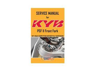 Manuel de service PSF2 KYB Anglais - 980480