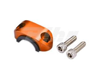 Abrazadera superior soporte maneta con goma ART naranja