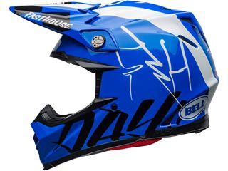 Casque BELL Moto-9 Flex Fasthouse DID 20 Gloss Blue/White taille XS - 544de690-498d-4417-b18e-022442f18da7