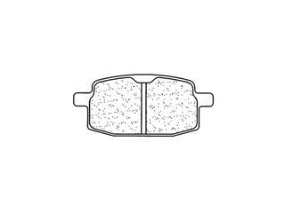Plaquettes de frein CL BRAKES 2696S4 métal fritté - 272696S4