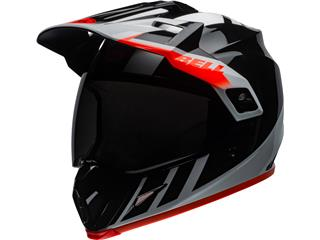 BELL MX-9 Adventure Mips Helm Dash Gloss Black/White/Orange Größe XL