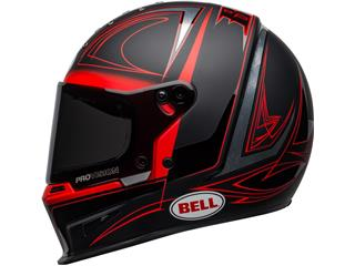 Casque BELL Eliminator Hart Luck Matte/Gloss Black/Red/White taille L - 54d1c461-7ecc-4812-8c50-95cb34948cf4