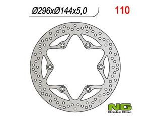 Disque de frein NG 110 rond fixe - 350110