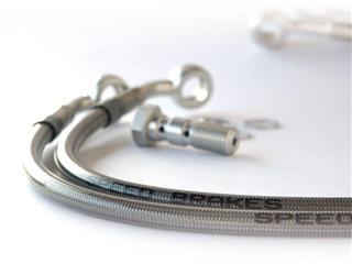 DURITE FREIN ARRIERE HONDA INOX/BLEU - 351307403