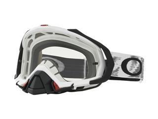 OAKLEY Mayhem Pro Goggle Matte White Speed Clear Lens