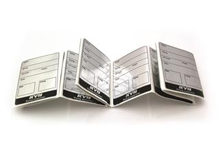 KYB Maintenance Labels - 10 Pack