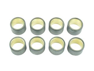 ATHENA Rollers Ø25x17mm 16g - 8 Pieces