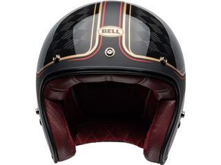 Capacete Bell Custom 500 Carbon RSD CHECKmate Preta/Dourada, Tamanho XXL - 5564e7d6-8c40-420f-8e2e-9078906f63c0