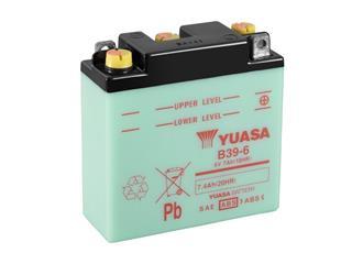 Batterie YUASA B39-6 conventionnelle - 32B396