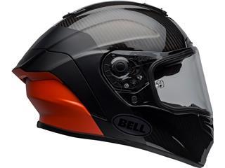 BELL Race Star Flex DLX Helmet Carbon Lux Matte/Gloss Black/Orange Size XL - 559ad464-c5dc-4810-be1d-ce147af794e3