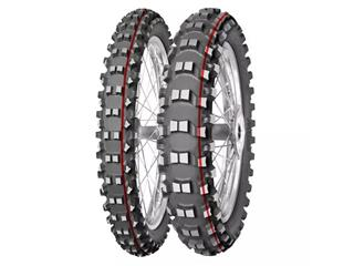 MITAS Tyre TERRA FORCE-MX SM - Soft To Medium - 120/80-19 M/C 63M TT red