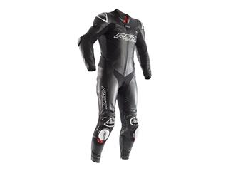 RST Race Dept V Kangaroo CE Leather Suit Normal Fit Black Size YL Junior