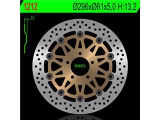 Disque de frein NG 1212 rond semi-flottant