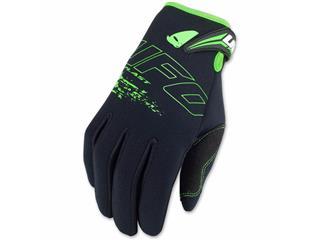 UFO Neoprene Gloves Black/Green Size XL