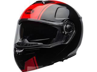 BELL SRT Modular Helmet Ribbon Gloss Black/Red Size S - 56081363-5276-467d-8d92-9c4dc18ec4b5