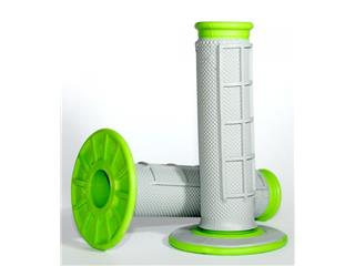 Renthal DUal Grip grips grey/green - 872355