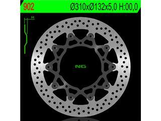 Disque de frein NG 902 rond semi-flottant - 350902