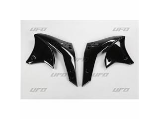 Ouïes de radiateur UFO noir Kawasaki KX250F