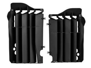 Cache radiateur POLISPORT noir Honda CRF450R/RX - 784620BK