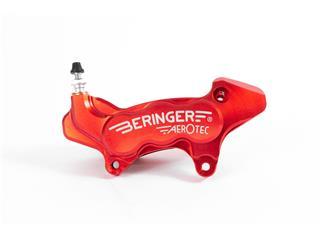 Etrier de frein axial gauche BERINGER Aerotec® 6 pistons Ø27mm rouge