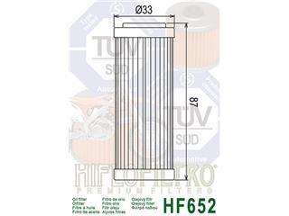 HIFLOFILTRO HF652 Oil Filter - 56bab36e-246a-4a5d-8147-027a957c1679