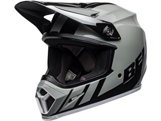 Casque BELL MX-9 Mips Dash Gray/Black/White taille XL - 801000190171