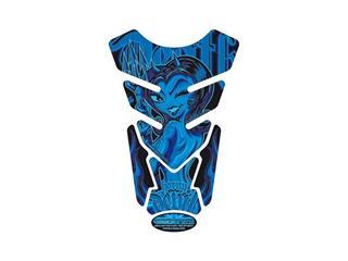 Protection de réservoir MOTOGRAFIX Street Style 4pcs bleu
