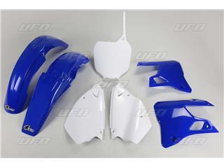 Kit plastique UFO couleur origine bleu/blanc Yamaha YZ125/250 - 78442400