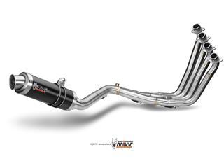MIVV GP Steel Black Full Exhasut System Honda CBR650F