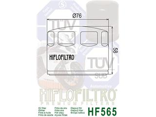 HIFLOFILTRO HF565 Oil Filter Black Aprilia - 573b7e51-42f3-4435-be24-c82be0dd699d