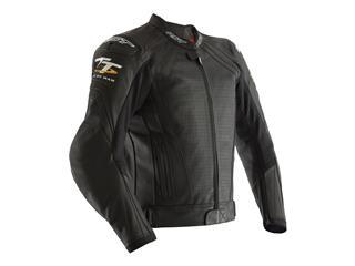 RST IOM TT Grandstand CE Leather Jacket Black Size XL