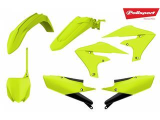 Kit plastiques POLISPORT jaune fluo Yamaha YZ250F/450F - 4420005923