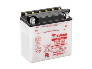 Batterie YUASA YB7L-B2 conventionnelle