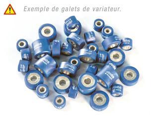 Jeu de 8 galets POLINI 25x14,8mm, 12g, coloris violet, YAMAHA MAJESTY 400