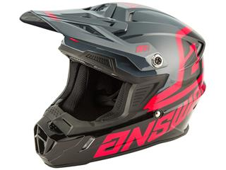 Casque ANSWER AR1 Voyd Junior Black/Charcoal/Pink taille YM - 801000410189