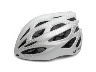 Capacete V Bike MTB/Road 25 aberturas de ventilação prata/brancotamanho M (55-58cm)