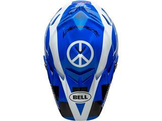 Casque BELL Moto-9 Flex Fasthouse DID 20 Gloss Blue/White taille S - 5820c819-f6a4-4700-b63e-a4f6b7e6a375
