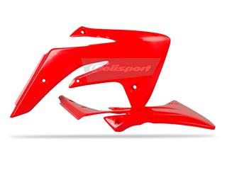 Ouïes de radiateur POLISPORT rouge Honda CRF110F - 784162RD