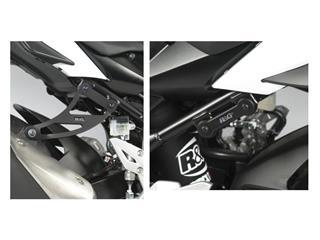 R&G RACING Exhaust Hanger Black Suzuki GSR 750