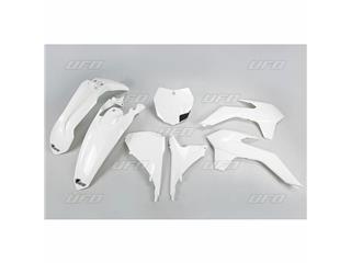 UFO Plastic Kit White KTM
