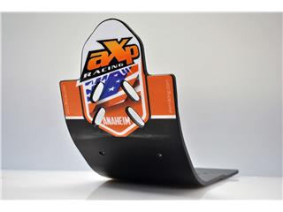 AXP Anaheim HDPE MX Glide Plate Black/Orange Sticker KTM 250/350 SX-F