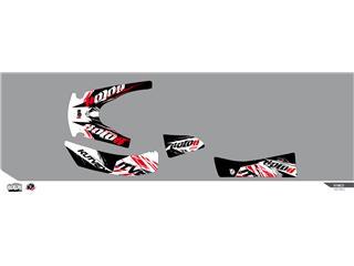 Kit déco KUTVEK Rotor noir Kymco MXU 400 - 78104603