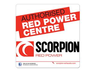 AUTOCOLLANT SCORPION  AUTHORISED DEALER - 76001901