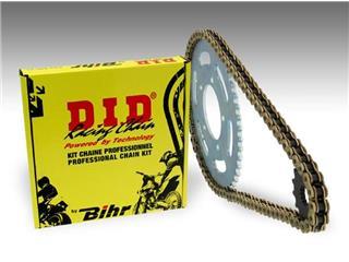Kit chaîne D.I.D 520 type DZ2 13/49 (couronne ultra-light) Honda CR250R - 484906