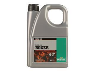 MOTOREX Boxer 4T Motor Oil 15W50 100% Synthetic 20L - 5937950c-b20e-4932-a530-6a2063fcaf8d