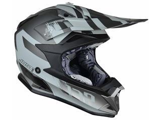 JUST1 J32 Pro Helmet Kick Titanium Gloss Size XS - 622331XS